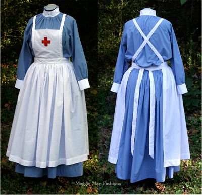 19th century british nurses | Red cross gown made for a museum in Queensland