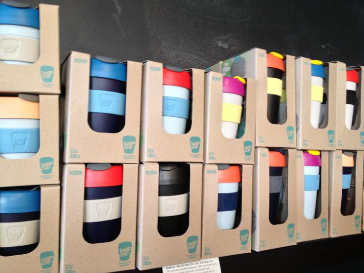 Remix KeepCups at Caffe Rosso