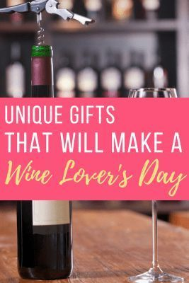Fun gifts for wine lovers