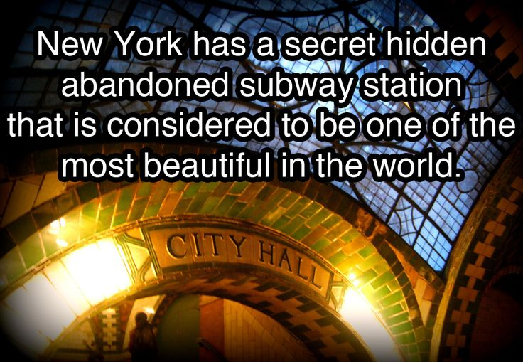 10 Things You Probably Never Knew About New York City....I need to go back!