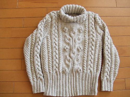 Ravelry: 02 Pullover mit floralem Muster pattern by Rebecca Design Team