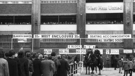 West Ham United plays final game at the Boleyn Ground