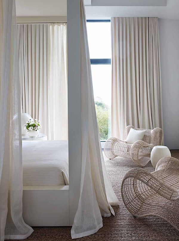Canopy tropical bedroom