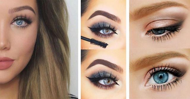 Brak Ci makijażowych inspiracji dla Twoich niebieskich oczu? Poznaj najnowsze propozycje tego sezonu.  #MAKIJAŻ DLA NIEBIESKICH OCZU #MAKIJAŻ #NIEBIESKIE #OCZY #KOBIETA #MAKE UP