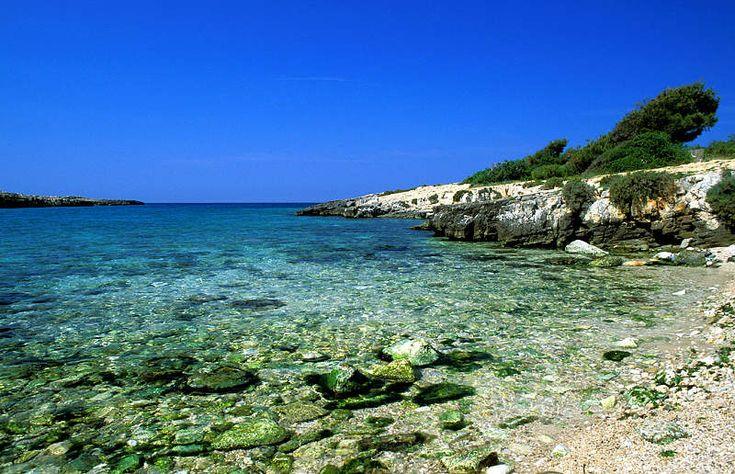 Beach of porto Selvaggio in Puglia, Italy. I will be there soon...
