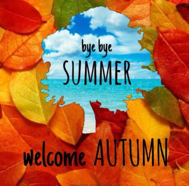 Bye Bye Summer, Welcome Autumn Autumn Leaves Fall Leaf Autumn Pictures  Welcome Autumn Bye Summer