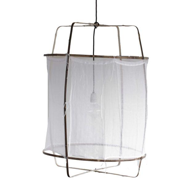 Model: Ay Illuminate Z1 Hanglamp - Ontwerper/merk: AY Illuminate - Materiaal: Bamboe - Prijs: € 479,-