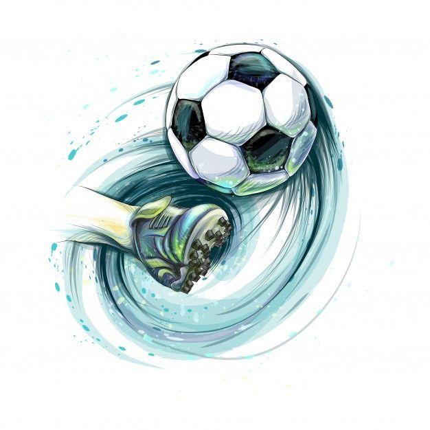 Pin De Mariel En Frozen Dibujos De Balones Balones De Futbol Dibujo Dibujos De Futbol
