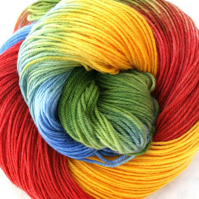 Splendor Sock Yarn - County Fair by jill draper makes stuff, via Flickr