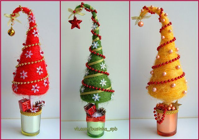 Деревья декоративные, топиарии / Topiary Christmas trees