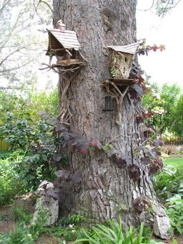 high rise fairy houses!