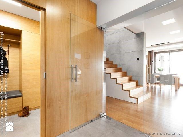 płyty betonowe contractors projekt loftstudio - zdjęcie od contractors - Schody - Styl Nowoczesny - contractors