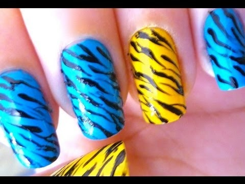 New Nail Art Ideas have been published on Wooden Bling http://blog.woodenbling.com/unhas-decoradas-unhas-de-zebra-zebra-nail-art/.  #nailart  #nails #fingernails #Manicure #FashionAccessories #fashion #Fashionstyle #bling #swag