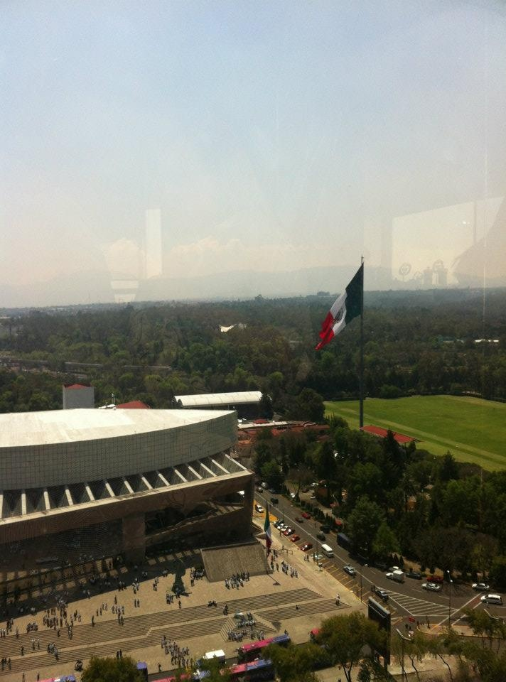View from office tower in Polanco