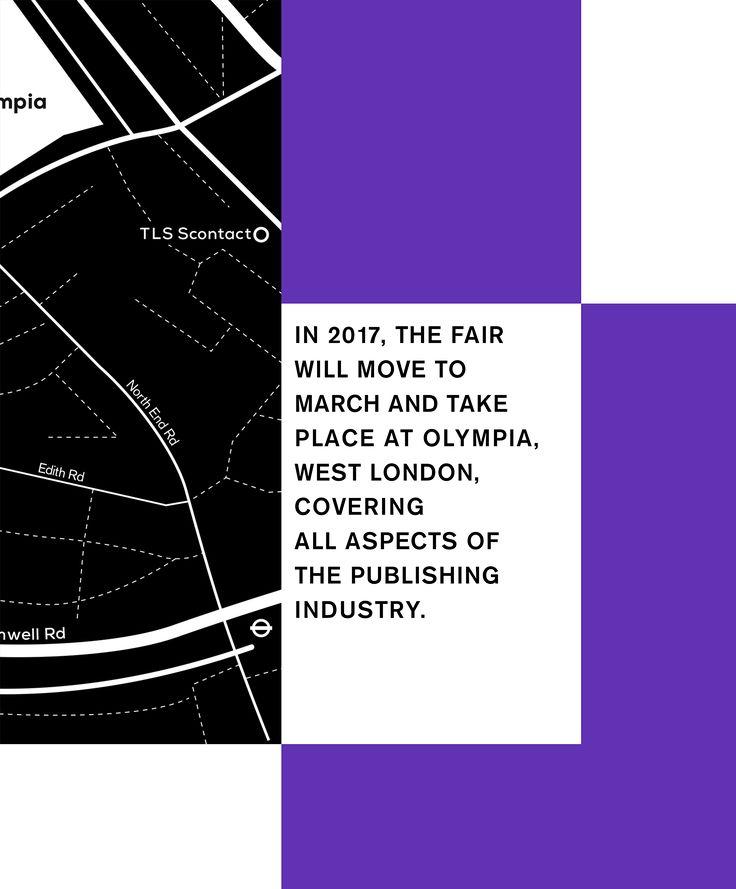 The London Book Fair on Behance