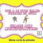 Dans ce fichier Notebook, vous retrouverez deux jeux interactifs pouvant être utilisés avec vos élèves de 3ième ou de 3ième année du primaire.   Le...