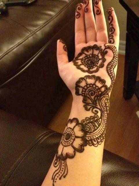 Amazing Henna Patterns for Eid