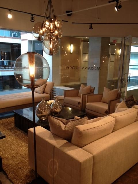 ADRIANA HOYOS Showroom In The #DCOTA #designerfurniture  #contemporaryfurniture
