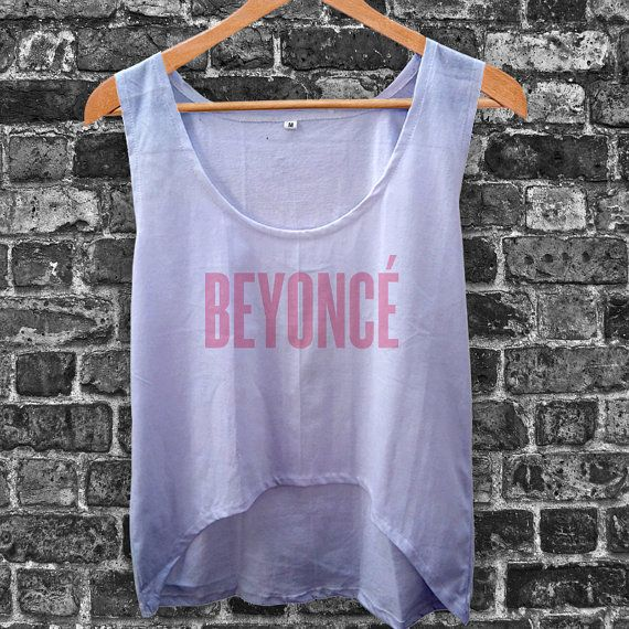 Beyonce Women Crop Tank by inoeshop on Etsy