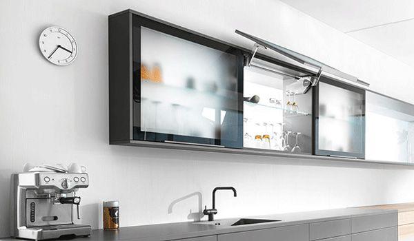Blum Aventos Hs Lift Up System Overhead Kitchen Cabinet Hardware Premier Kitchens Australia Cabinet Kitchen Cabinet Handles Home