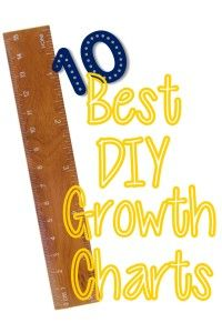 10 Best DIY Growth Charts