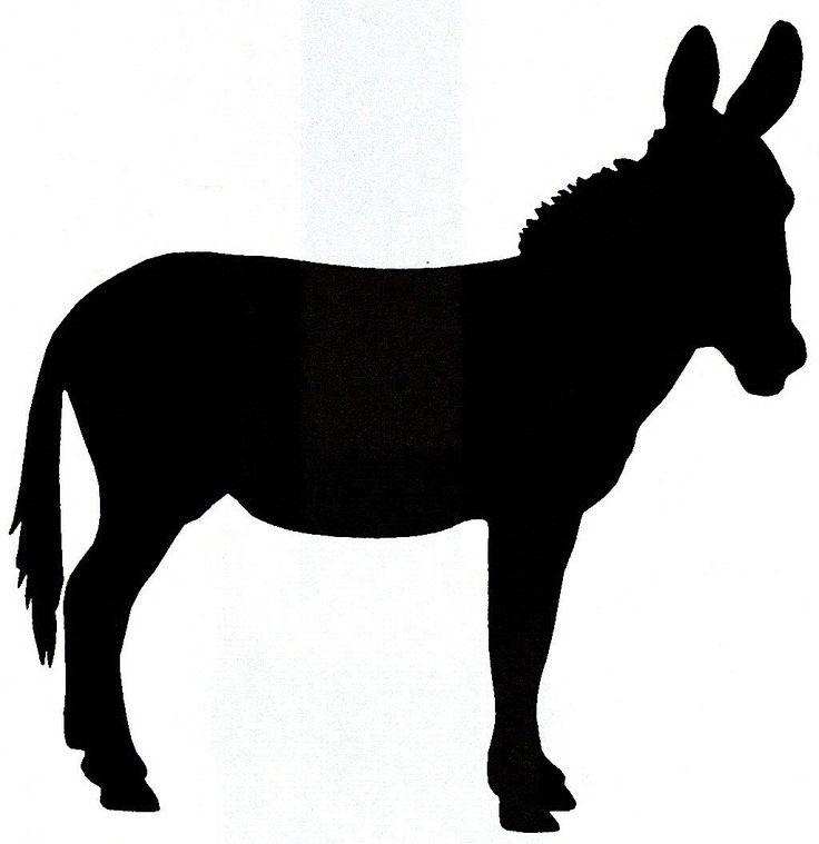 Donkey Horse Silhouette Google Search Donkey Horse