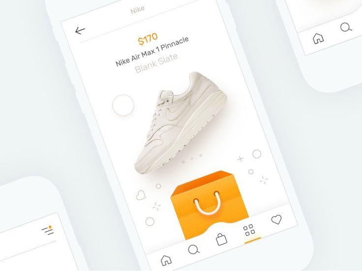 E-Commerce App on UI Movement