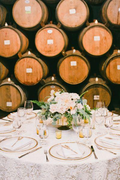 Winery wedding: http://www.stylemepretty.com/little-black-book-blog/2015/03/31/elegant-saint-helena-vineyard-wedding/ | Photography: Onelove - http://www.onelove-photo.com/