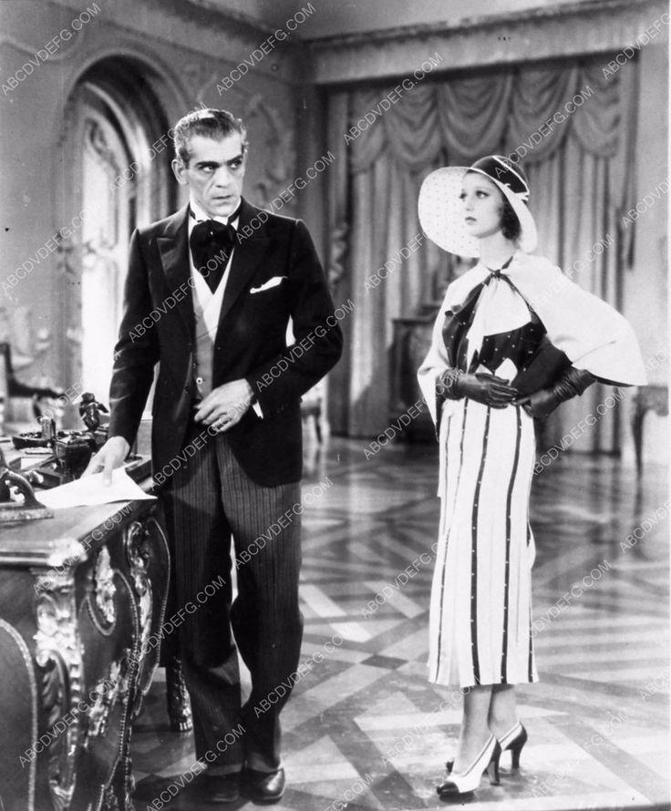 Boris Karloff Loretta Young I Like Your Nerve film scene 1737-15