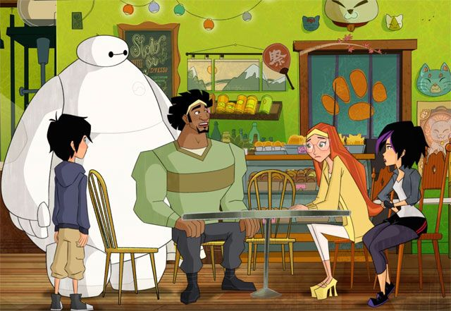 Big Hero 6 Series Clip Has Breakfast with the Team   Big Hero 6 series clip has breakfast with the team  Disney XDhas shared a clip fromBig Hero 6: The Series their upcomingMarvelanimated show premiering in November of2017. Check outthe Big Hero 6series clip below!  Big Hero 6: The Series picks up immediately following the events of the Walt Disney Animation Studios Academy Award-winning feature film and continues the adventures and friendship of Hiro the fourteen-year-old orphaned tech…