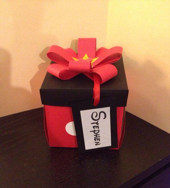 Surprise Disney trip exploding box by ScrapbookingSuzy on Etsy, $8.00