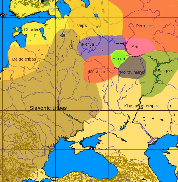 Much of what is now Northern Russia was originally populated by Baltic and…
