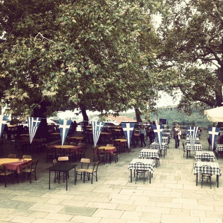 Milies central square,Pilion,Greece
