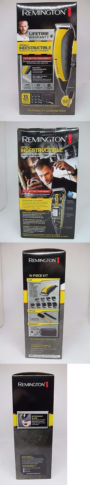 Mens Shavers: Remington Virtually Indestructible Haircut And Beard Trimmer Kit - Hc5855 BUY IT NOW ONLY: $33.5