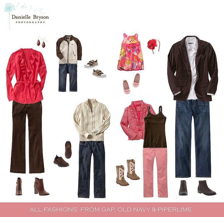 Family Photo Clothing Ideas Family Pinterest Fall