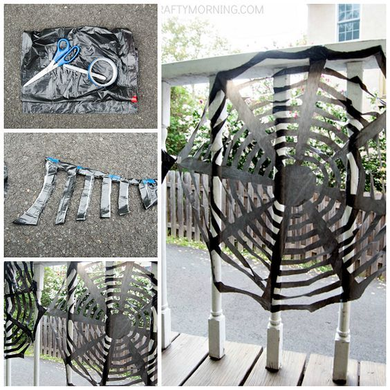 10 Best Ideas Turn Trash Bags Into Halloween Decorations With