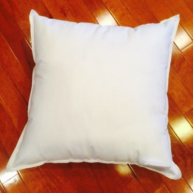 Designers use our wholesale bulk pillow form inserts. Order online today and have them normally shipped within 48 hours. We can handle small or large orders. 100% Made in the USA. We offer Promotional pillows with custom screen printing.