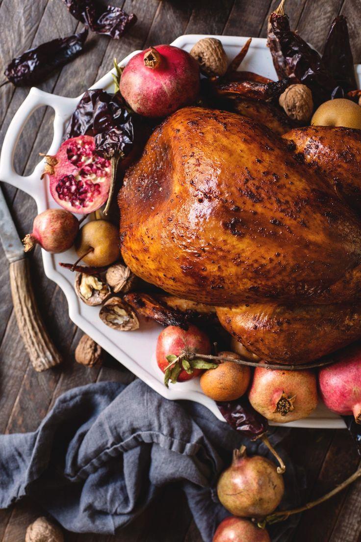 Chile-Rubbed Thanksgiving Turkey Recipe
