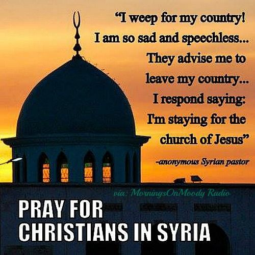 Another middle east Christian for the lefties to ridicule. This Christian will see more adversity then thier first world problems could ever touch. Shameful hypocrites