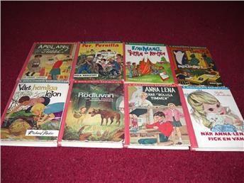 8 Walströms barnböcker, från 60-talet på Tradera.com - Barnböcker
