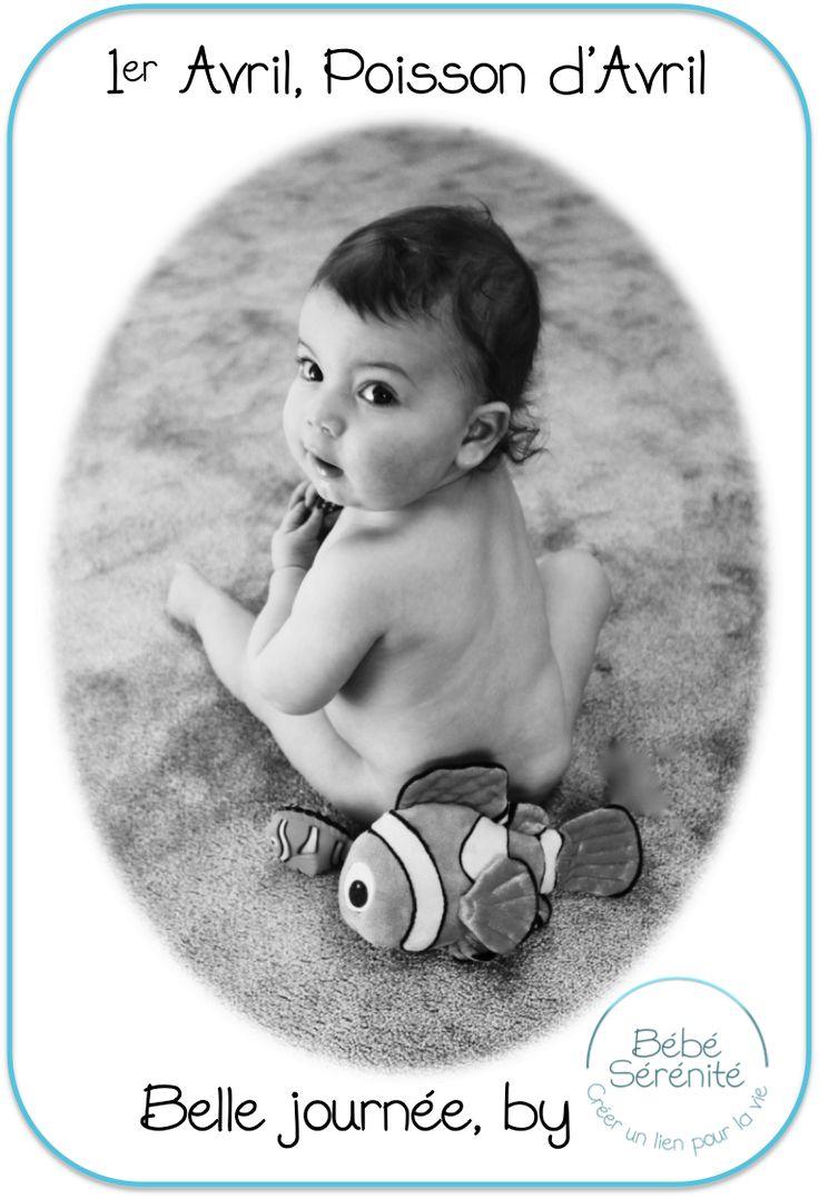 Poisson d'Avril by Bébé Sérénité - rire - enfant - petit grand - farce - blague nouveau né - massage - bien-être - bienfaits - heureux - masser - parent - surprise