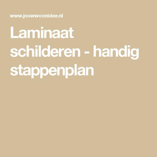 Laminaat schilderen - handig stappenplan