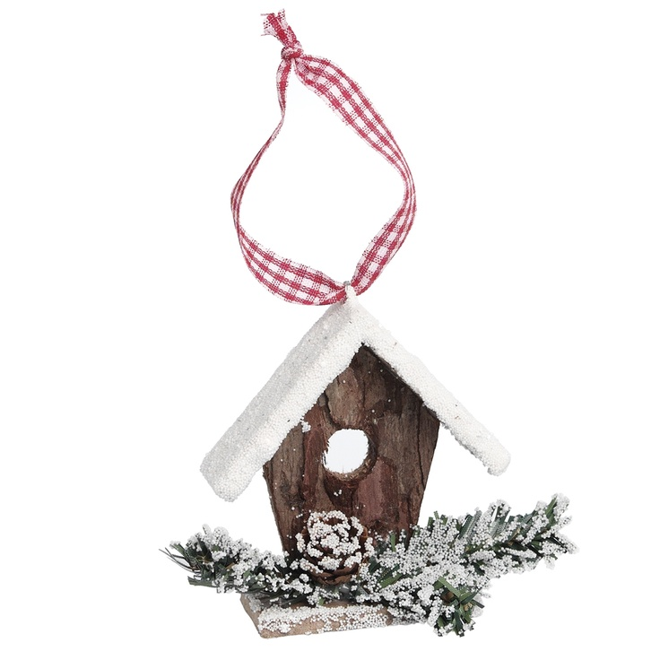Birdhouse Christmas Tree Ornaments : Best images about diy christmas birdhouses on