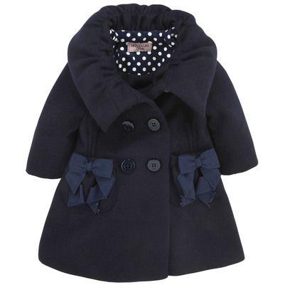 Monnalisa - Navy blue coat - 44654