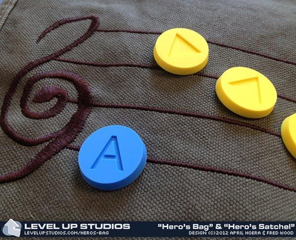 Mochila decorable con las notas de la Ocarina del tiempo   La Guarida Geek