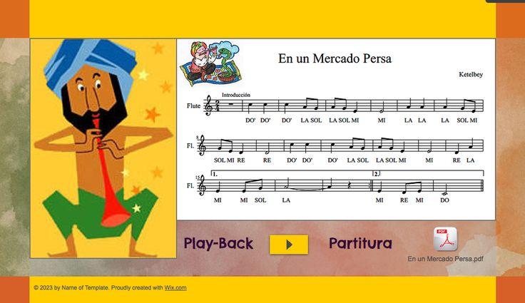 Partitura En un Mercado Persa A. Ketelbey   http://www.mariajesusmusica.com/1/post/2014/02/en-un-mercado-persa-wix-con-partitura-y-play-back.html
