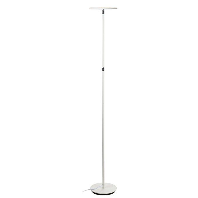Brightech Sky Flux Modern Led Torchiere Floor Lamp For Living Rooms Bedrooms Adjustable Warm To Cool White Torchiere Floor Lamp Bright Floor Lamp Lamp