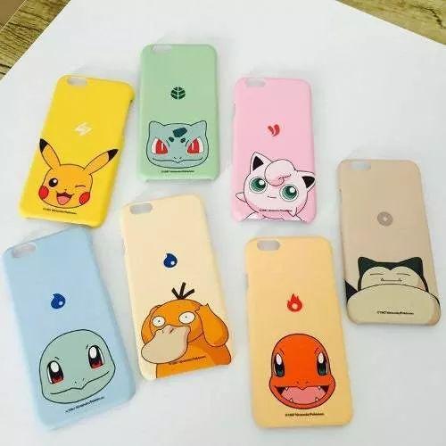 fundas para smartphones pokemon go