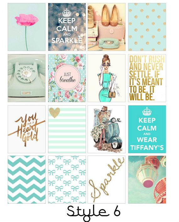 Fashion icône Erin Condren autocollants par LittleSurpriseShop