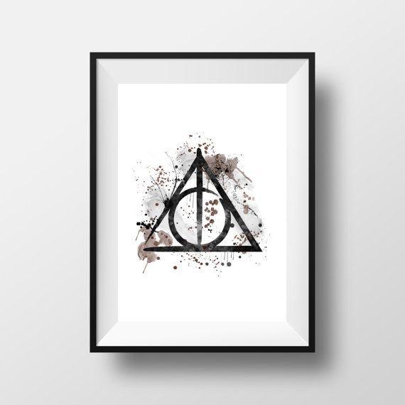Harry Potter die Heiligtümer des Todes  Instant Download